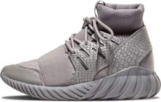 adidas Tubular Doom 'Luxe Textile' - Chalk Solid Grey/Metallic Silver