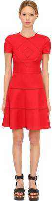 RED Valentino Cotton Blend Cady Jacquard Dress