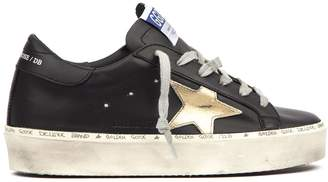 Golden Goose Super Star Black Leather Sneaker