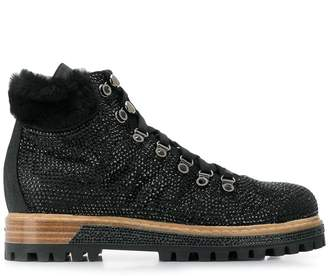 Le Silla crystal embellished boots