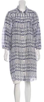 Diane von Furstenberg Knee-Length Shirt Dress