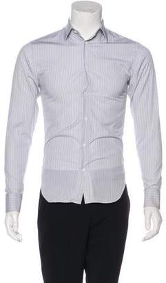Christian Dior 2007 Striped Dress Shirt