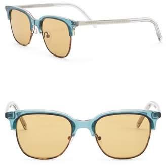 Tomas Maier 50mm Clubmaster Sunglasses