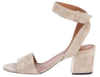 Givenchy Suede Ankle Strap Sandals