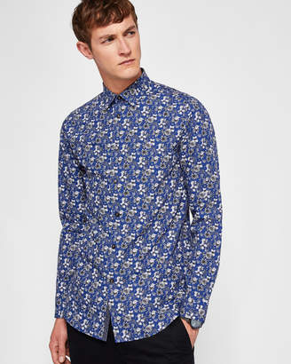Ted Baker BELLLA Floral print cotton shirt