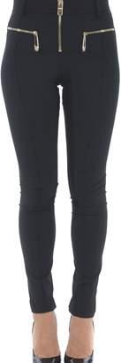 Versace Skinny Zip Tail Trousers