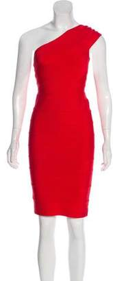 Herve Leger Josephine Bandage Dress