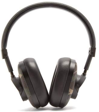 Master & Dynamic - Mw60 Leather On Ear Wireless Headphones - Mens - Black Green