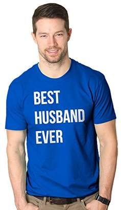Crazy Dog T-shirts Crazy Dog Tshirtsens Best Husband Ever T shirt Funny T shirts for Dad Fathers Day Gift Sarcas Wedding (Royal )