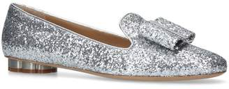 Salvatore Ferragamo Leather Sarno Flats