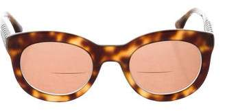 David Yurman Tortoiseshell Tinted Sunglasses