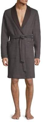 Hanro Lewin Shawl Collar Robe