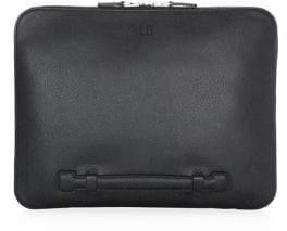 Dunhill Cadogan Large Zip Leather Folio