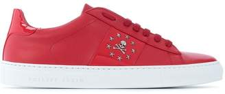 Philipp Plein logo plaque low top sneakers