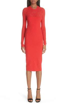 Versace Open Knit Body-Con Dress