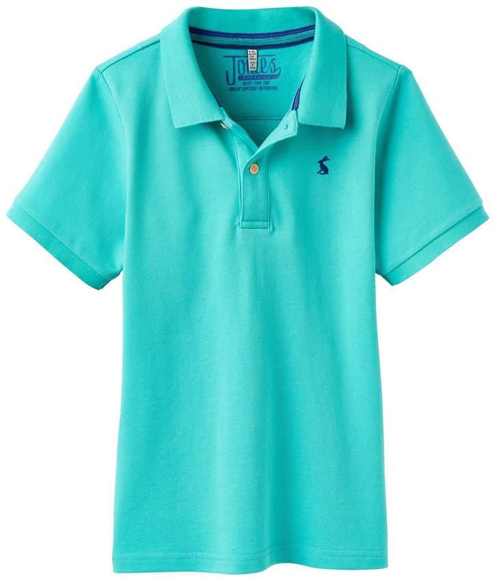 Boys Woody Pique Polo Shirt