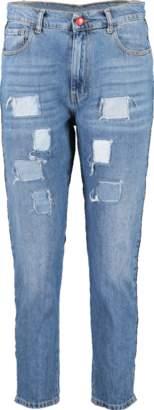 HISTORY REPEATS Love Trim Skinny Jean