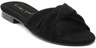 Bettye Muller Score Twisted Flat Sandals
