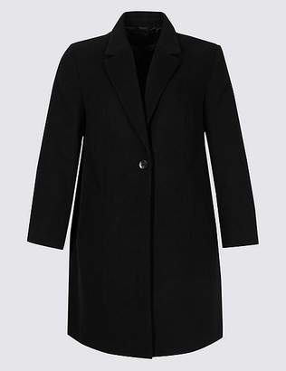 Marks and Spencer CURVE Single Button Coat