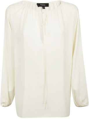 Theory Long-sleeved Blouse