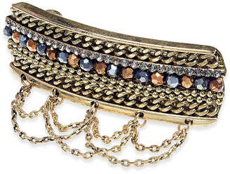INC International Concepts I.N.C. Gold-Tone Stone Multi-Chain Hair Clip, Created for Macy's