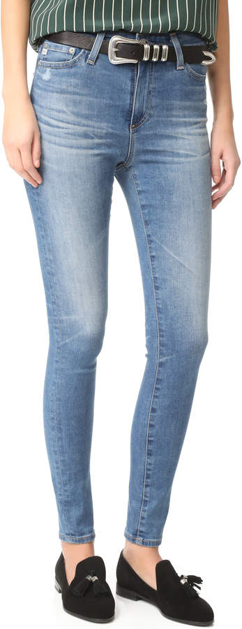 AG Jeans AG The Mila Super High Rise Skinny Jeans