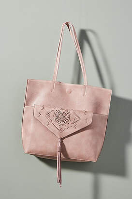 Anthropologie Thoma Whipstitch Clutch & Tote Bag