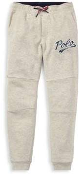 Ralph Lauren Boy's Polo Logo Sweatpants