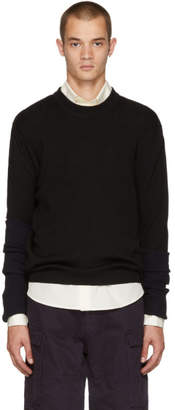 Y/Project Black XL Sleeve Sweater