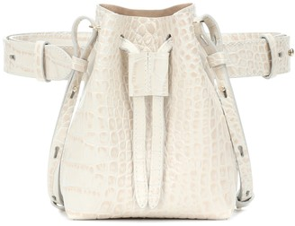 Nanushka Minee faux leather bucket bag