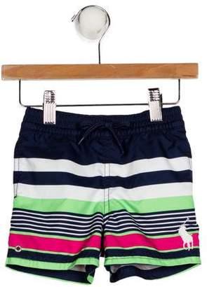Ralph Lauren Boys' Striped Swim Suit