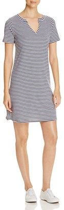 Three Dots Stripe Tunic Dress $80 thestylecure.com