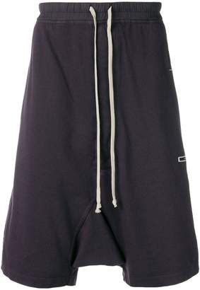 Rick Owens oversized drop-crotch shorts