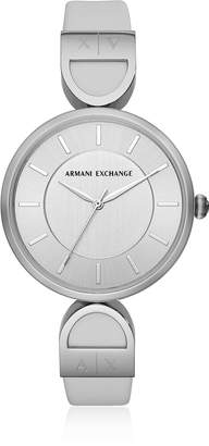 Emporio Armani Brooke Stainless Steel Gray Women's Watch