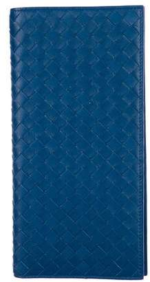 Bottega Veneta Intrecciato Bifold Continental Wallet