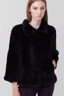 Martina Fur Jacket $698 thestylecure.com