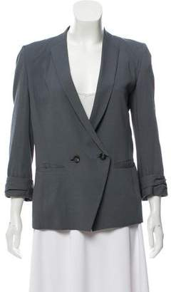Helmut Lang Double-Breasted Three-Quarter Length Sleeve Blazer