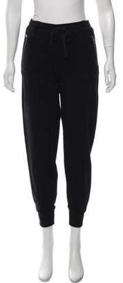 Burberry Mid-Rise Skinny Sweatpants