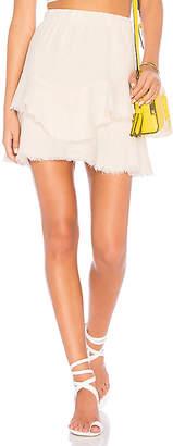 Krisa Ruffle Mini Skirt