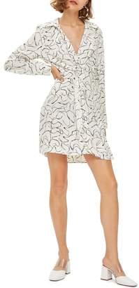 Topshop Obsession Twist Minidress