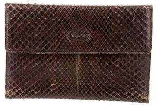 Tod's Python Travel Wallet