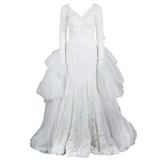 ZUHAIR MURAD White Silk Dresses