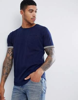 Ringspun Breton Stripe T-Shirt With Pocket