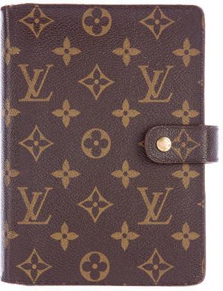 Louis VuittonLouis Vuitton Monogram Medium Ring Agenda