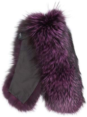 Mr & Mrs Italy fox fur collar