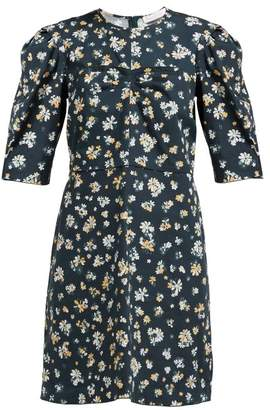 See by Chloe Summer Floral Print Cotton Dress - Womens - Green Multi