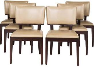Holly Hunt Set of 6 Christian Liaigre Dining Chairs