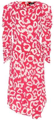 Isabel Marant Carley printed dress