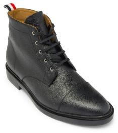 Thom Browne Derby Lace-up Captoe Boots $790 thestylecure.com