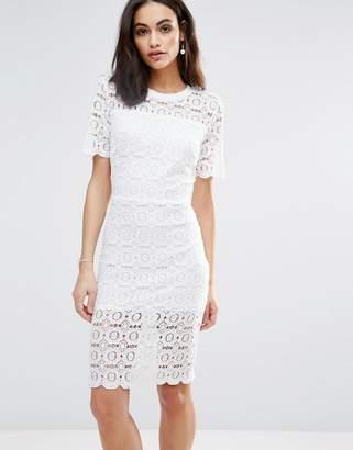 Liquorish Floral Lace Dress $52 thestylecure.com